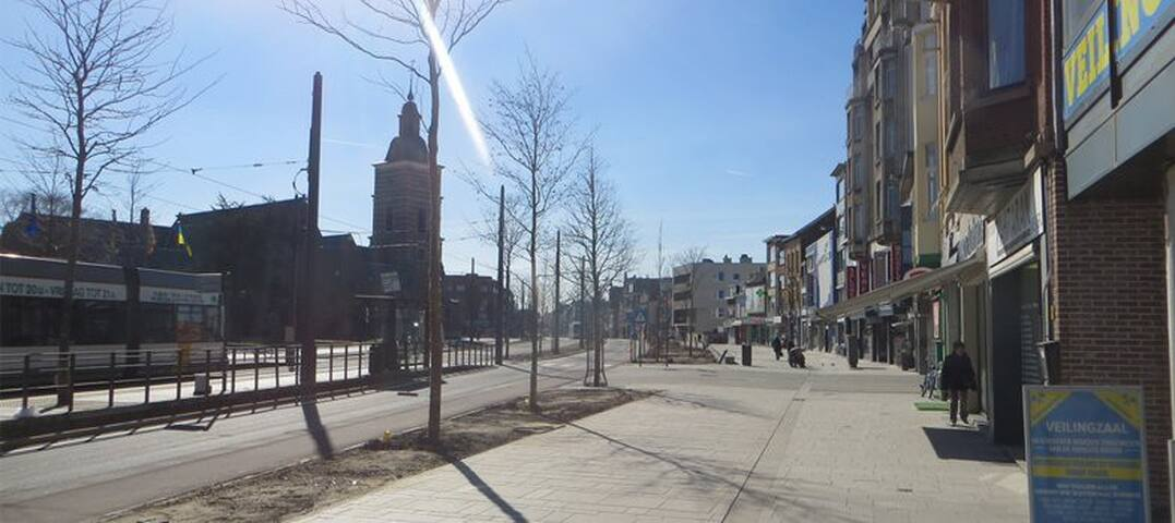 Multicultural Antwerp neighbourhood - Antwerpia - Apartament