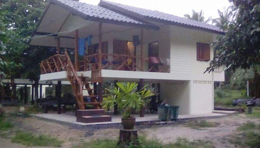 jungle house - Ko Pha-ngan - Hus