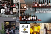 A local favourite Wine Bar. You will enjoy the experience at Atlas Vinifera....spoilt for choices