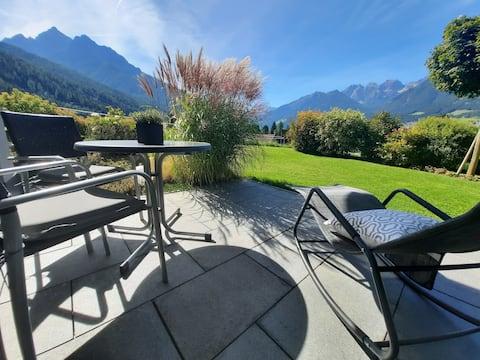 Stylische Garten-Suite in Panoramalage