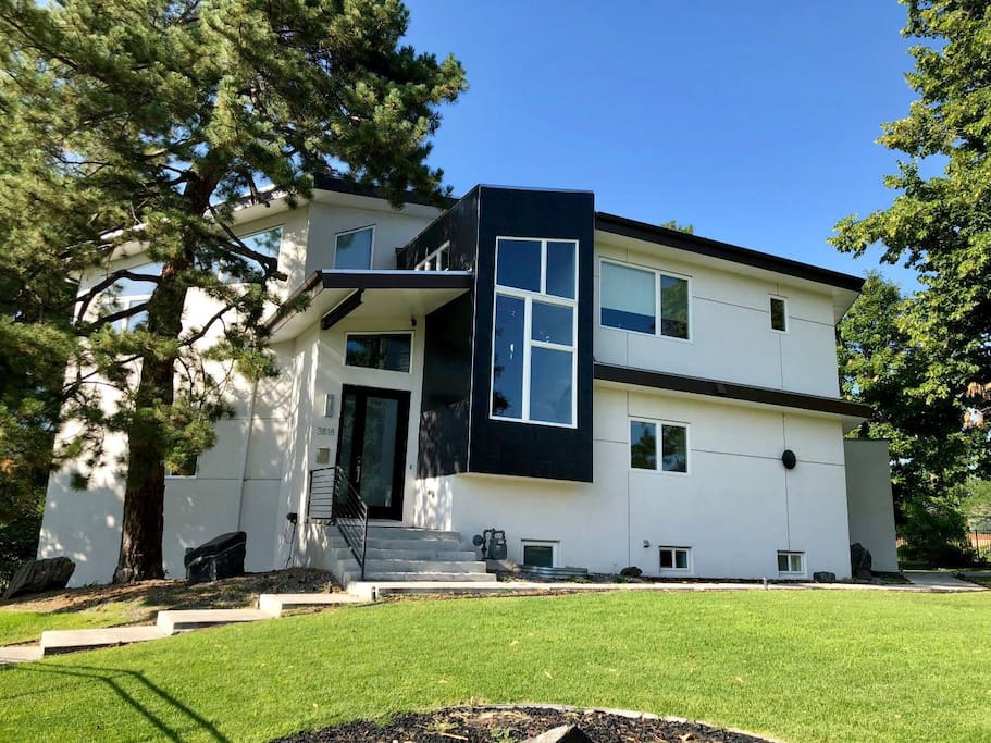 Brand new build on a large (.4 acre) lot overlooking a duck pond