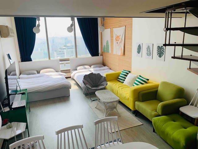 !!New Open!/4Q-Bed/10Sec from Gangnam Stn Exit 5/