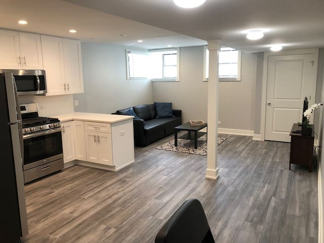 New Updated Apartment in Old Town w/ Free Parking