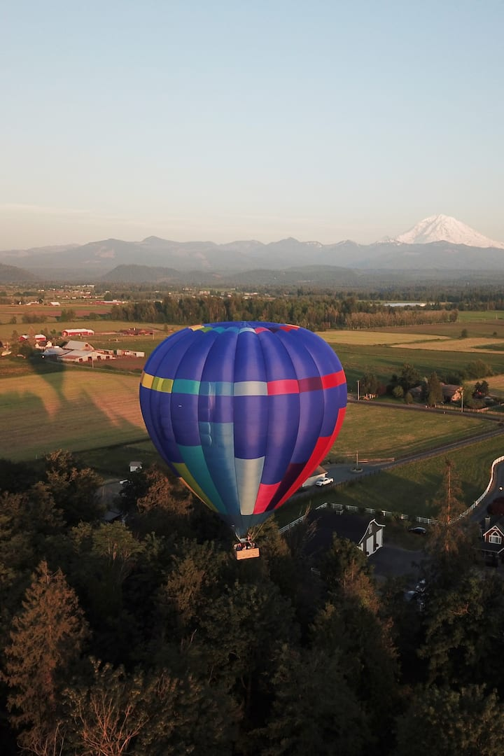Our Brand new hot air balloon!