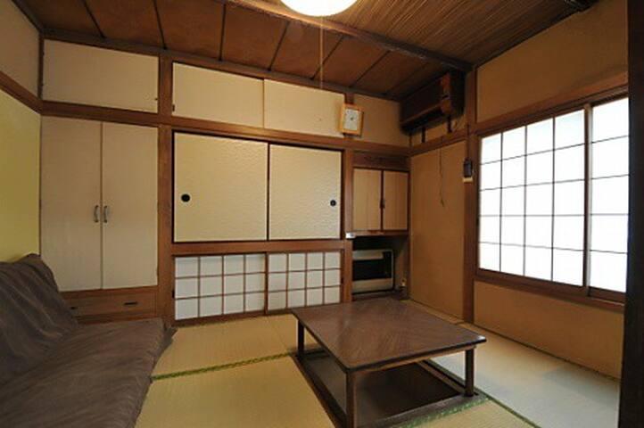 中野202中野駅より徒歩15分、新宿まで電車で5分シェアハウスの1部屋 - Nakano-ku - Ev