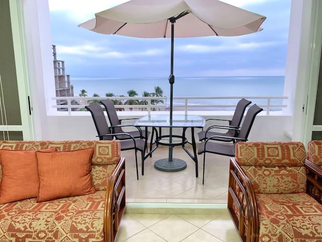Departamento duplex frente al mar en CasaBlanca