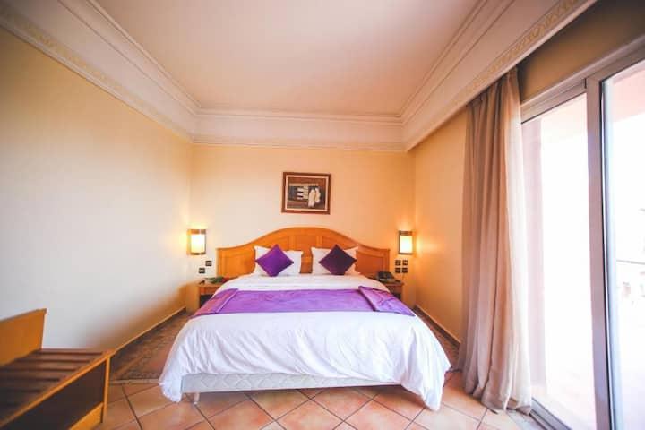 Chambre Simple en BB à l'hôtel Menzeh Dalia