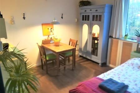 Kleurrijk 4-persoons 2-kamer appartement