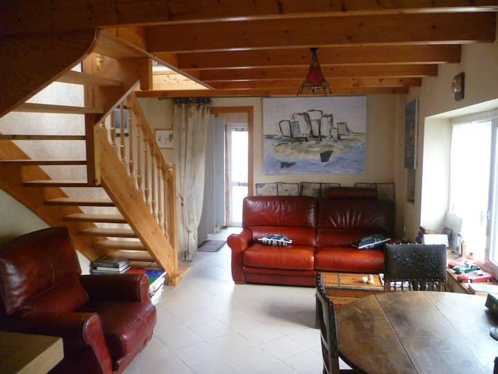 ROSCOFF (50m du port) adorable maison de pêcheur