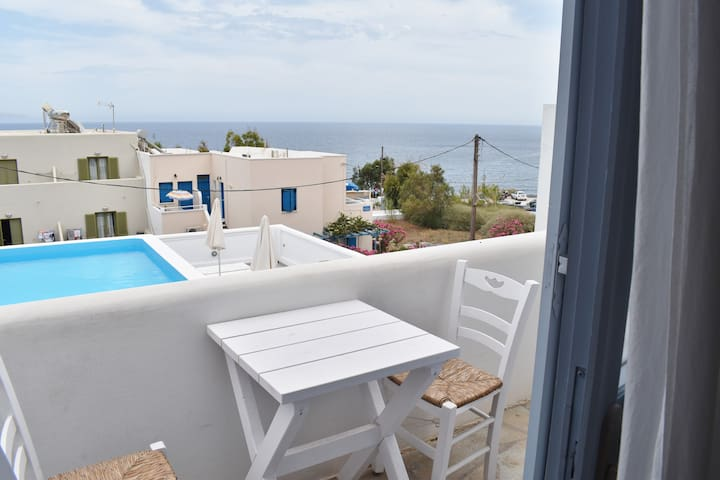 Double Bed Studio Kamari Beach - Santorini - Apartment