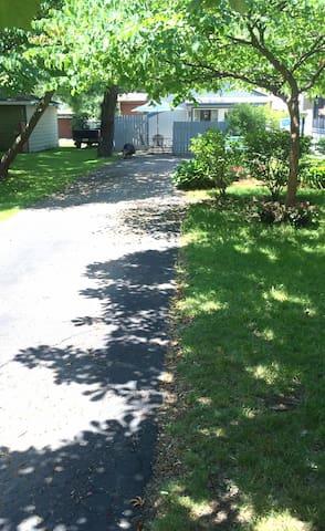 Driveway - walkway