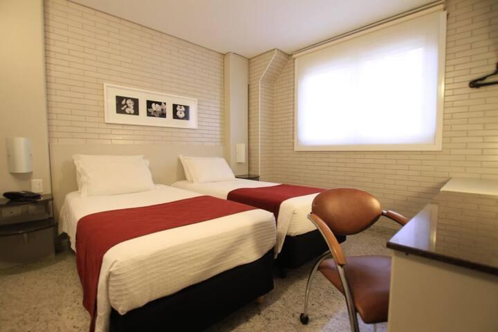 Hotel Confiance Prime Batel - STANDARD TWIN