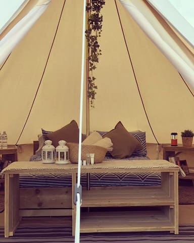 Glamping Tent (Daffodil) @ Crossover