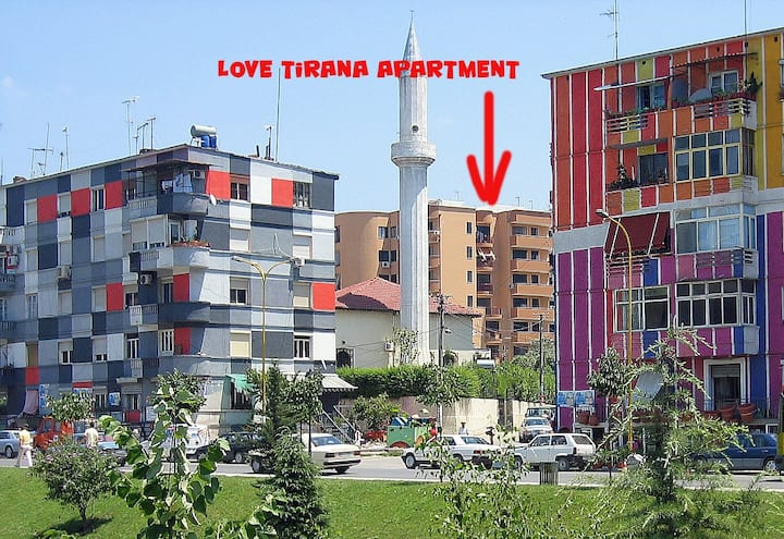 Love Tirana Apartment  (Tanners' Mosque) sanitized