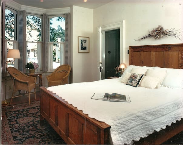 The Parlor Room in Historic Cambria Home