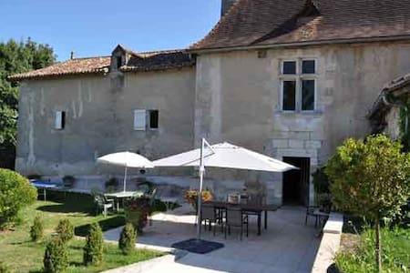 Suite Marion au Manoir de Longecote - Chanterac