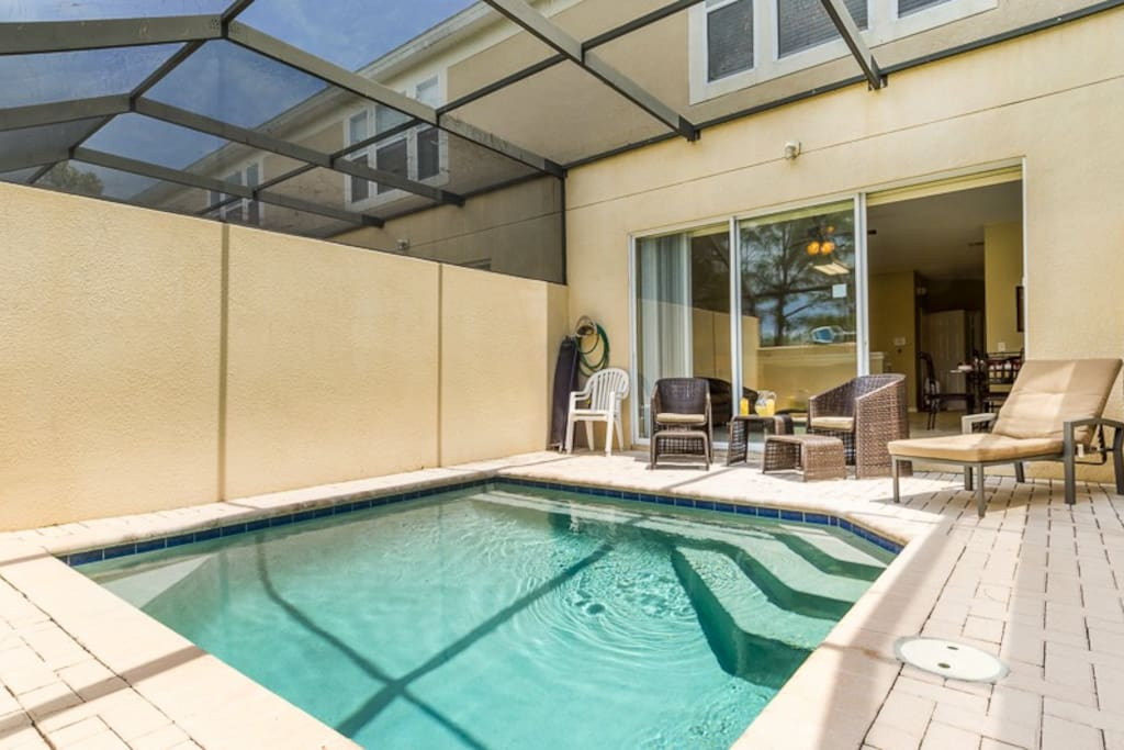 Enjoy your own private splash pool when staying in this beautiful townhome