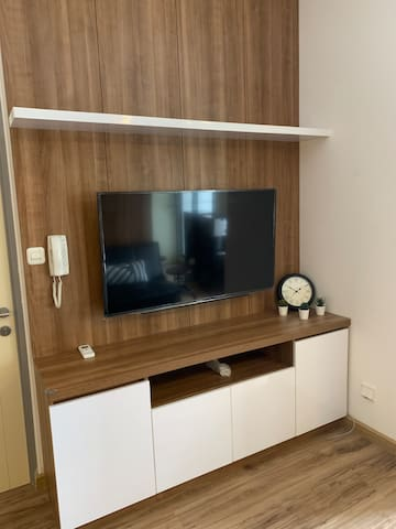 Living room & smart tv