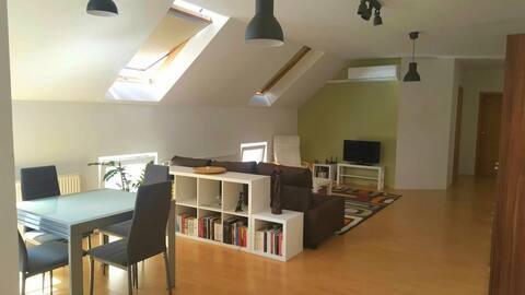 Ferencesek apartman. Pécs  belváros, 80 m2 lakás.