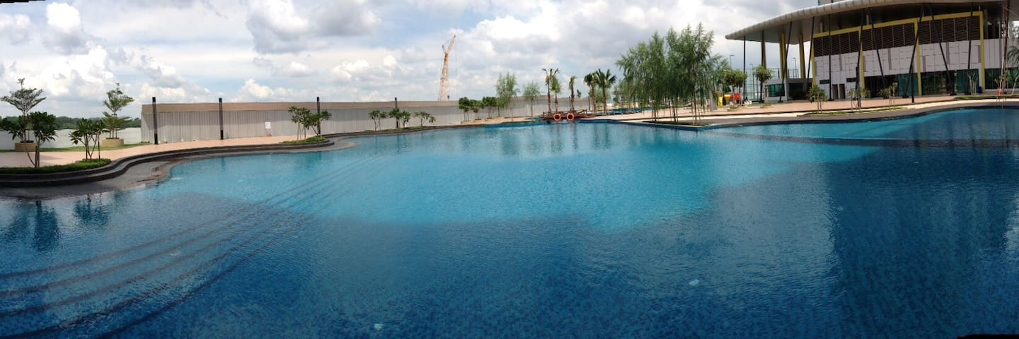 Swimming pool located at 6th floor