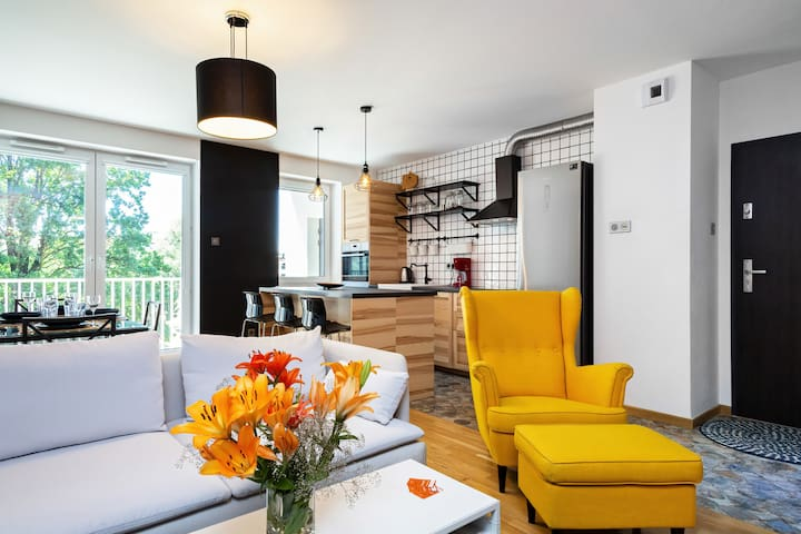Luxurious Apartment in Wroclaw ☆ Tumskie Ogrody