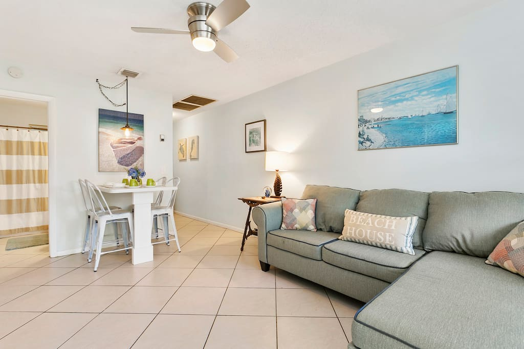 Opening Living area