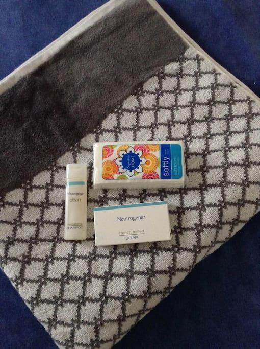 Kit de bienvenida Welcome kit