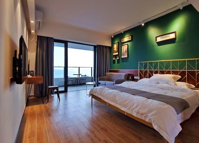 【Lazy慵懒】汕尾保利·金町湾 | 美式复古风海景公寓
