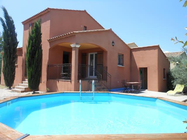 Maison calme à la campagne piscine - Vallabrègues - Casa