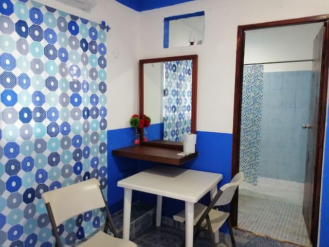 Pequeña y acogedora habitación en Tulum!!