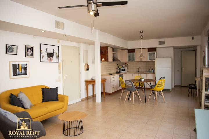 ☀Stunning sunny&clean apt. in artistic old Jaffa☀
