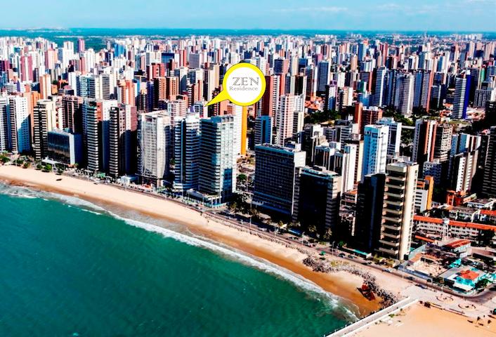 Lindo AP- Na Bela Praia Iracema- Fortaleza-CE - Fortaleza