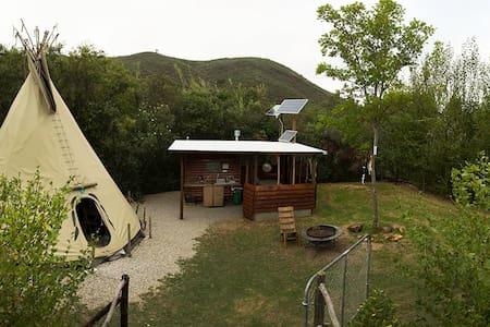 Lancewood TiPi Camp: Magic TiPi