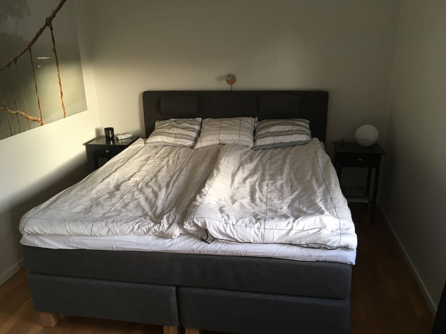 Brand new Continental bed 180 cm.