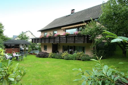 Pleasant Holiday Home in Kyllburg with Terrace, Garden, BBQ