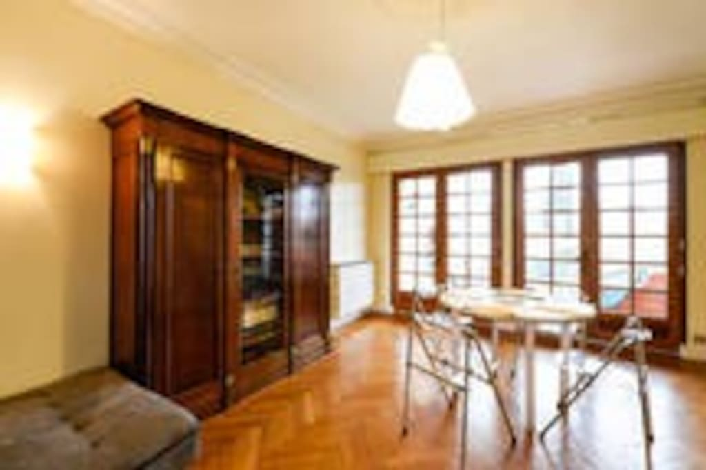 very large saloon and dining room