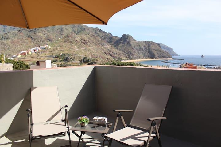 Ático en San Andrés. Playa de Las Teresitas/Anaga