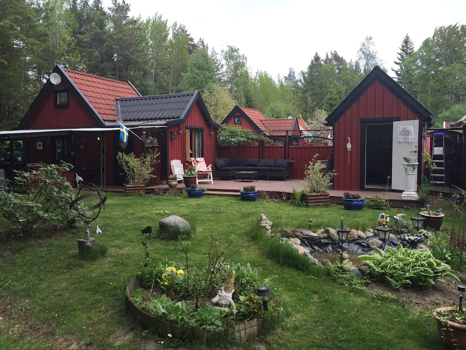 Unique cabins in the countryside close to Stockholm archipelago, only 30 min from city.
