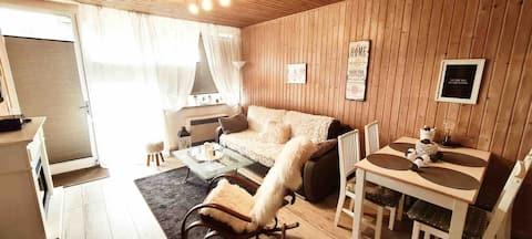 Appartement chaleureux au cœur de la nature
