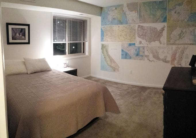 Homey 1BR apartment in Cherrydale