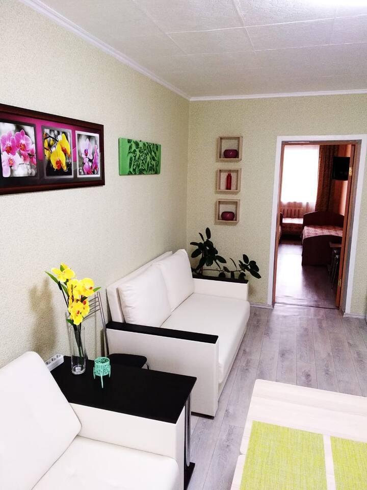 Двухкомнатная квартира на Герцена 97