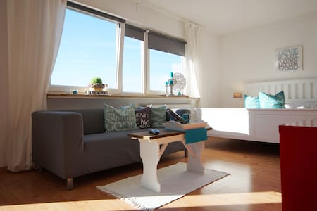 City-Apartment am HBF (WLAN/Balkon) - Apartment