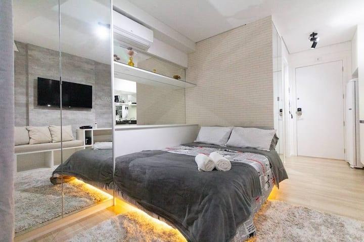 Apartamento Próximo Shopping Frei Caneca STAYS 214