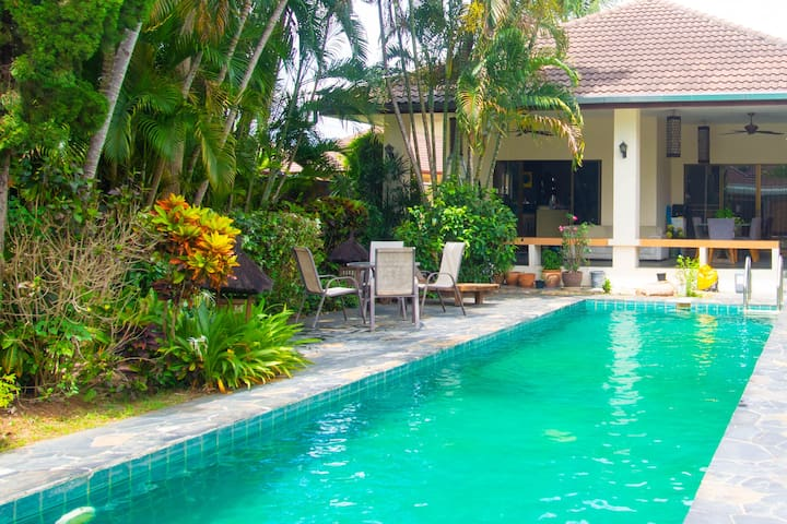 2 Bed Home with Private Pool near New Lanna School
