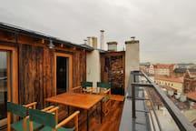 Loft design apartment over the City