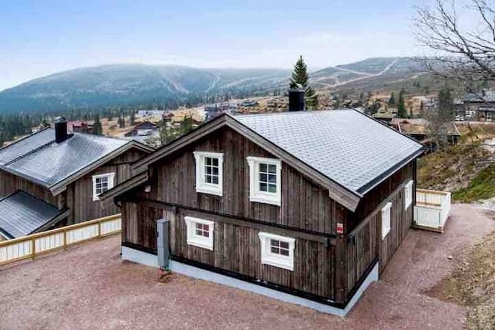 Ny og fin hytte sentralt i Skurufjellet/Fageråsen