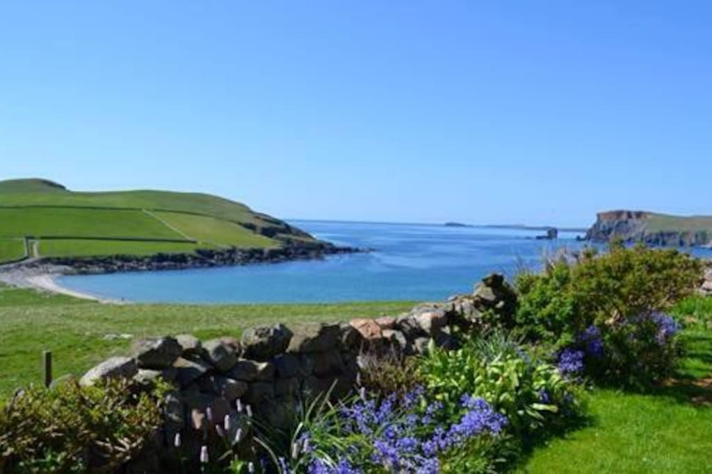 West Ayre - Beautiful view from the garden