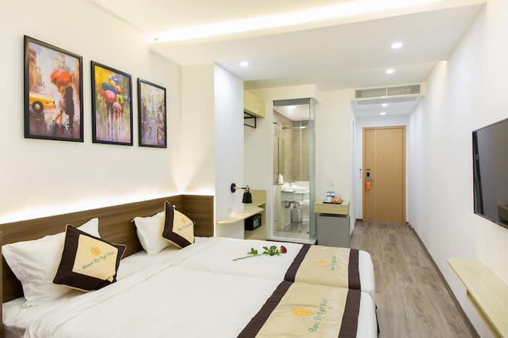 4★ HNBN Boutique Hotel w Modern Design