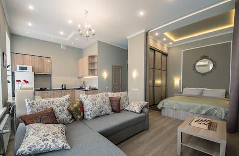 Comfortable apartments near the Summer Garden