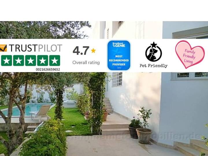 Villa in Gammarth, Tunesien